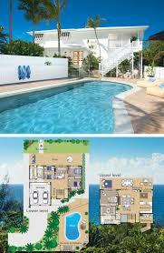 upside down house floor plans 31 best reverse living house plans images on pinterest beach