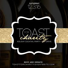 toast for charity the culture supplier