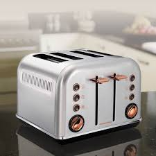 Old Fashioned Toasters Morphy Richards Rose Gold Four Slice Toaster Review Trusted Reviews