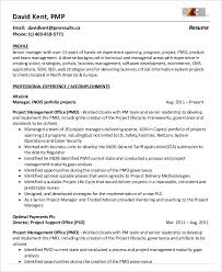 Business Management Resume Sample by Project Management Resume Example 10 Free Word Pdf Documents