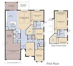 First Home Builders Of Florida Floor Plans Amberwood New Home Plan Dr Phillips Fl Pulte Homes New Home
