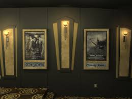 lighted movie poster frame passion suede home theater poster frame