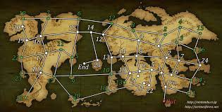 Dark Souls World Map by World Map Serenes Forest
