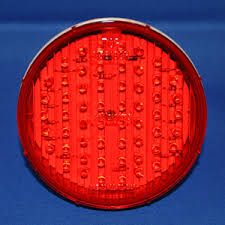 4 inch round led tail lights red 4 inch round 56 diode led stop turn tail light