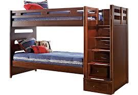 Cherry Bunk Bed League Cherry Step Bunk Bed Beds Wood
