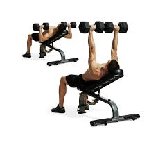 Good Weight For Dumbbell Bench Press Build A Bigger Chest And Triceps No Barbell Workout