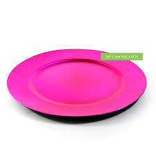 pink charger plate cheap charger plates