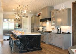 Luxor Kitchen Cabinets White Kitchen Cabinets With Black Island Home Decoration Ideas