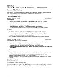 Sample Resumes For Sales Executives Cover Letter For Resume Examples Sales