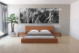3 piece canvas abstract grey artwork