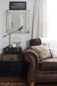 Brown Leather Sofas by This Is Exactly What I Was Looking For How To Make A Room Feel