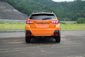crosstrek subaru orange 2018 subaru crosstrek review autoguide com news