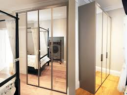 Sliding Mirror Wardrobe Cost Of Fitted Wardrobes Ideas