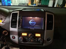 nissan frontier interior mods 2013 w nav aftermarket head unit install retain everything