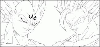 dbz vegeta coloring pages coloring home