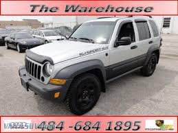 liberty jeep 2007 2007 jeep liberty sport 4x4 in bright silver metallic 588077