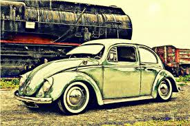 volkswagen vintage cars old vw beetle volkswagen classic car limited edition prints