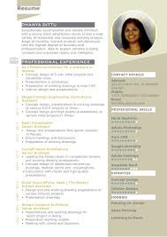 Best Resume In India by Architect Dhanya Resume