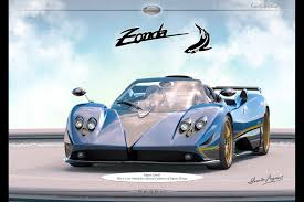 pagani zonda 2017 the gift that keeps on giving a new one off pagani zonda is on