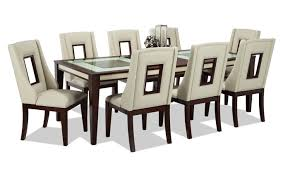 9 piece dining room set kenzo 9 piece dining set bob s discount furniture