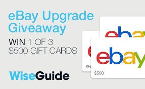 500 gift card win one of three 500 ebay gift cards autoguide news