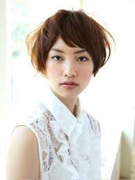 pictures of short japanese hair style for women
