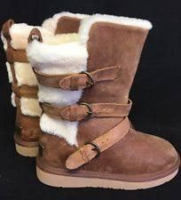 s ugg australia tatum boots ugg australia buckle comfort boots for ebay