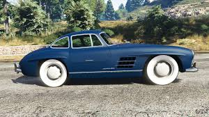 mercedes benz 300sl gullwing 1955 for gta 5