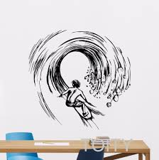 Surf Mural by Online Get Cheap Surf Wall Decals Aliexpress Com Alibaba Group
