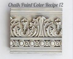 great chalk paint color recipes for painted moldings and furniture