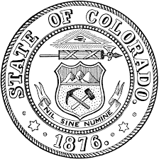 state seal of colorado clipart etc