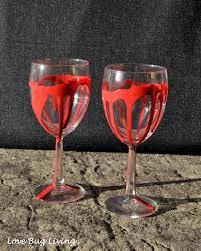 love bug living bloody wineglass u0026 mug