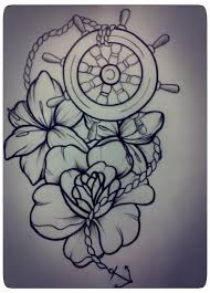 mer enn 25 trendy ideer om ship wheel tattoo på pinterest