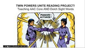 proloquo2go manual twin powers unite teaching aac core u0026 dolch sight words maureen