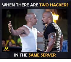 Server Meme - when there are two hackers gaming memes in the same server video