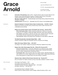 Resume Other Activities Resume U2014 Grace Arnold