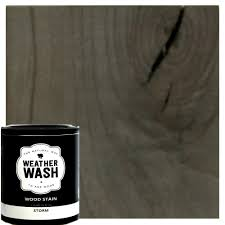 interior wood stain colors home depot 1 gal storm interior exterior weatherwash aging stain 0002 the
