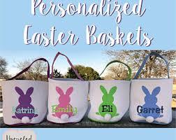 kids easter baskets kids easter basket etsy