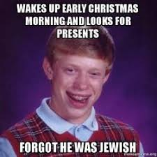 Early Christmas Meme - wakes up early christmas morning and looks for presents forgot he
