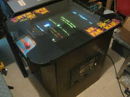 Ms Pacman Cocktail Table Former Games