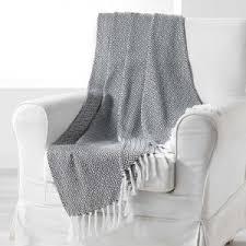 plaid coton pour canapé plaid et jetés déco textile eminza