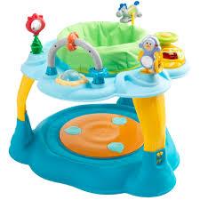 table d activité bébé avec siege centre d éveil bleu de formula baby trotteurs aubert