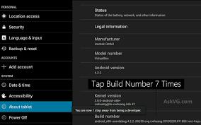 android developer options tip enable secret developer options menu in
