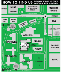Fsu Campus Map Find U0026 Contact Us Askew Student Life Center