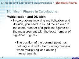 3 1 using and expressing measurements u003e 1 copyright pearson