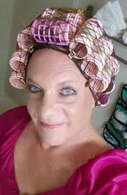sisyin hairrollers my sissy husband didn t know i had so many pink rollers he does
