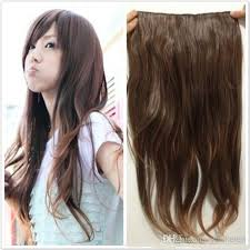 hair clip extensions women s fashion clip in hair extensions synthetic hair