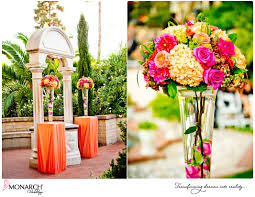 Tropical Theme Wedding - monarch weddings a preferred vendor at the prado at balboa park