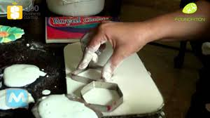 plaster of paris how to make shape youtube