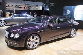 bentley flying spur custom bentley continental flying spur revealed for the us market